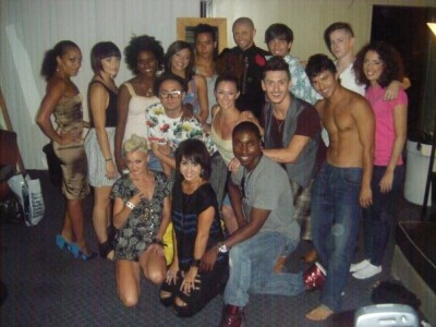 A picture after our last show with Brian Friedman and the rest of the Macy's Passport dancers!