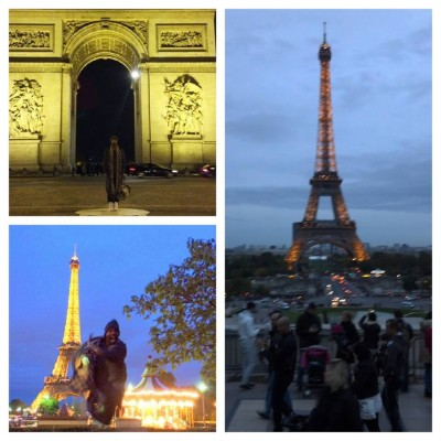 I finally made it to Paris to teach!  I had such a great time in this city.  It was magical!