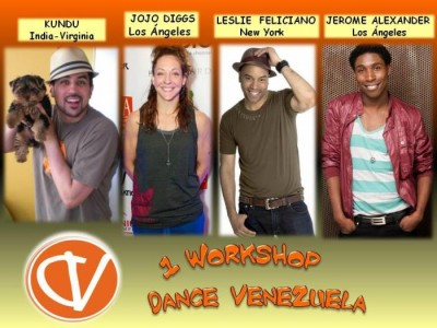 This is a flier for a workshop I will be doing in Venezuela!